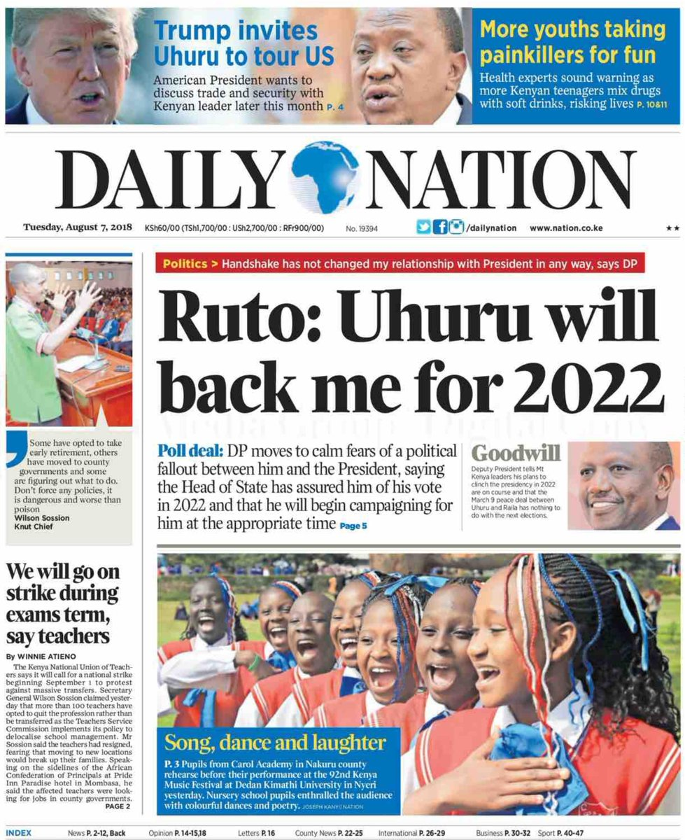 Daily Nation, Kenya
