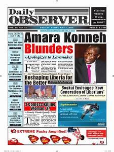 Daily observer liberia news today